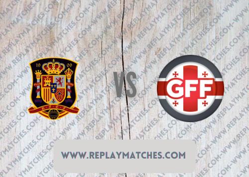Spain vs Georgia  Highlights