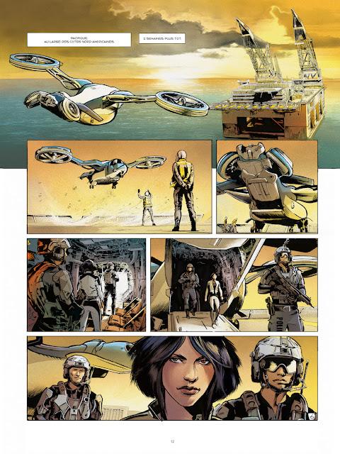Optic Squad Tome 1 - Mission Seattle de Sylvain Runberg et Stéphane Bervas aux éditions Rue de Sèvres Page 12