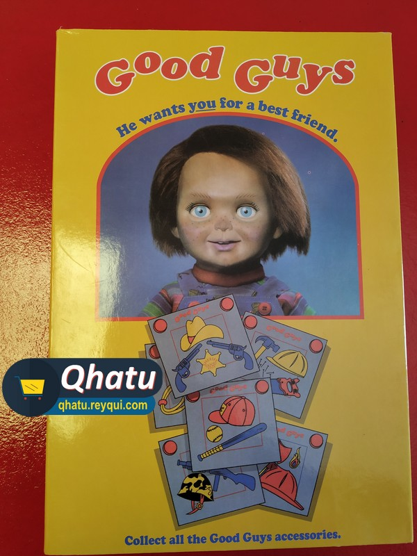 (Bs. 175) Chucky Good Guys: Ultimate Figure Action (Marca NECA)