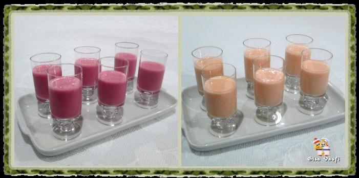Coqueteis de frutas sem álcool 1