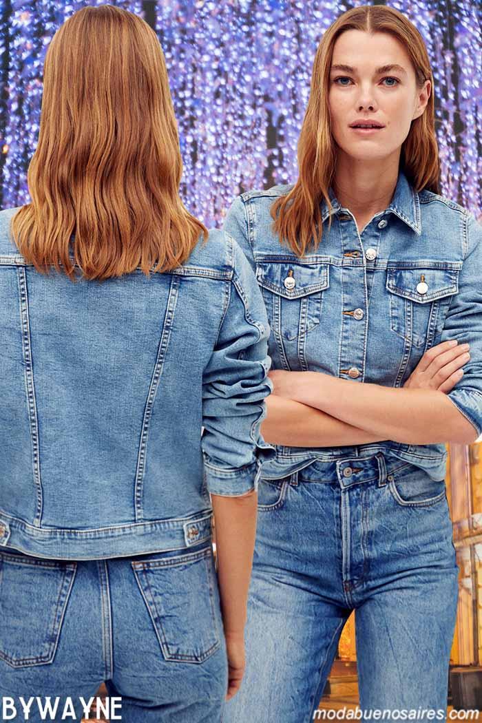 Moda jeans invierno 2021