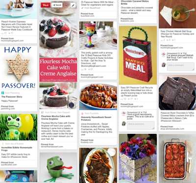 MBE Pinterest Passover Board