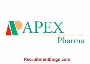 Medical representative At Apex pharma