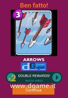 Soluzioni Quiz Clash Royale card livello 20
