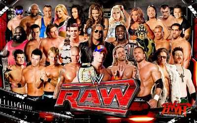 WWE Monday Night Raw Download 12th October 2015 HDTV 300MB
