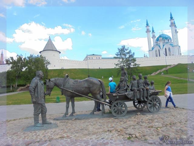 памятник в Казани