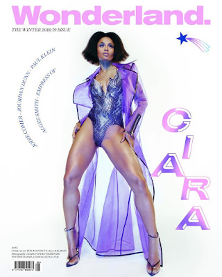 Ciara wonderland magazine cover