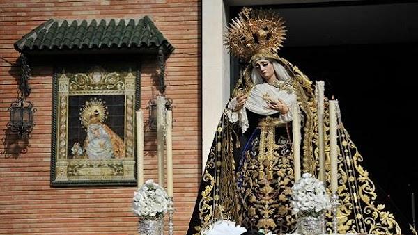 Horario e Itinerario Rosario de la Aurora en las Cigarreras en Sevilla este domingo