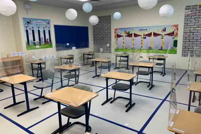 Texas A&M at Qatar develops protective shield for student desks in Qatar's schools, Doha,News,Education,Students,school,Parents,Qatar,Gulf,World