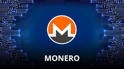 Crypto coin of Monero Cryptocurrency