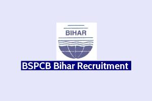 Bihar BSPCB Various Post Online Form 2019