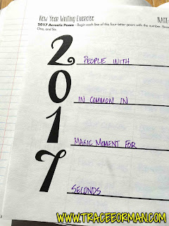 New Year Activity - Acrostic Poem