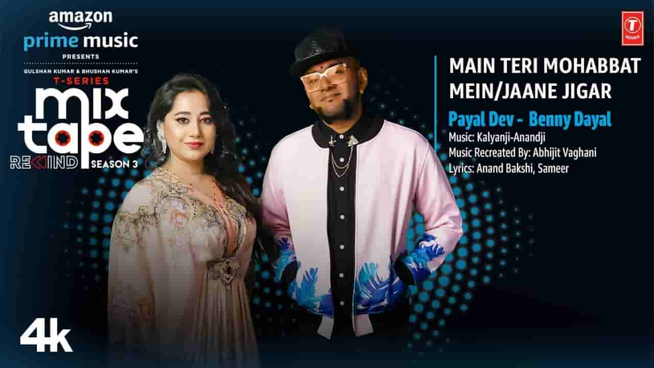 मैं तेरी मोहब्बत में / जाने जिगर Main teri mohabbat mein / jaane jigar lyrics in Hindi Payal Dev x Benny Dayal Hindi Song