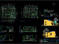 Download Gambar Restoran Format DWG AutoCAD