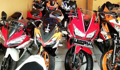 pusat jual beli, kredit motor bekas Honda, Yamaha, Suzuki Jaktim