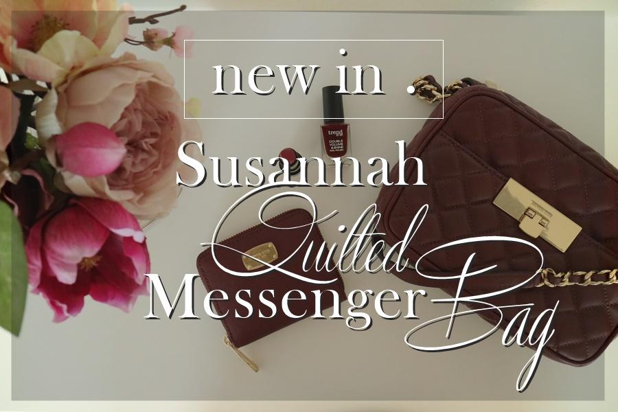 Michael Kors | Susannah Quilted MD Messenger Bag Merlot_www.josieslittlewonderland.de