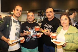 Inauguración de la pizzería O Fiore Mio