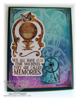 CraftyColonel Donna Nuce, Club Scrap Steamworks Card