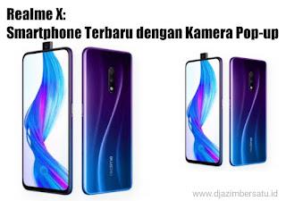 Realme X: Smartphone Terbaru dengan Kamera Pop-up