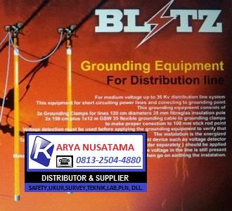 Jual Grounding Blitz 150kv Bisa Tarik Sliding 10mtr di