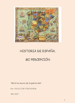 HISTORIA DE ESPAÑA. MI PERCEPCIÓN