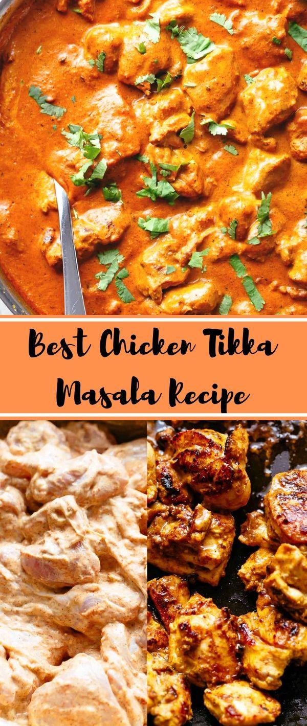 Best Chicken Tikka Masala Recipe #Best #Chicken #Tikka #Masala #Recipe Healthy Recipes For Weight Loss, Healthy Recipes Easy,