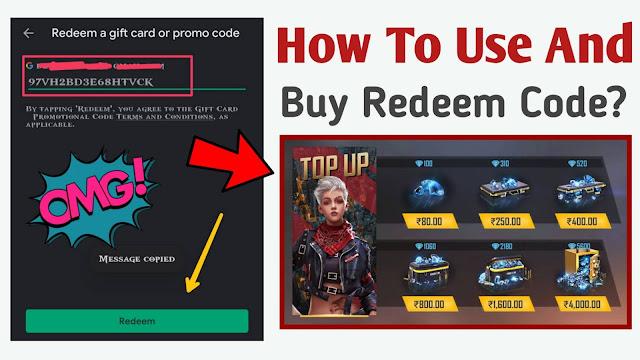 How to buy redeem code