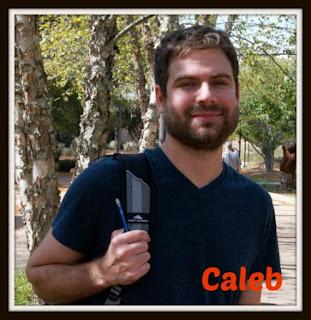 Caleb smiling