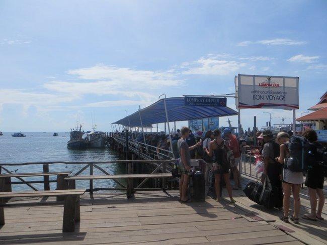 пирс Тао на остров Панган, Самуи и на Донсак