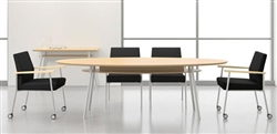 Mystic Series Elliptical Conference Table by Lesro