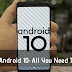 Google's Android 10: everything you need to know