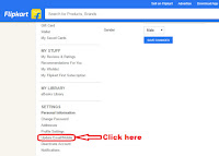 update mobile number in flipkart