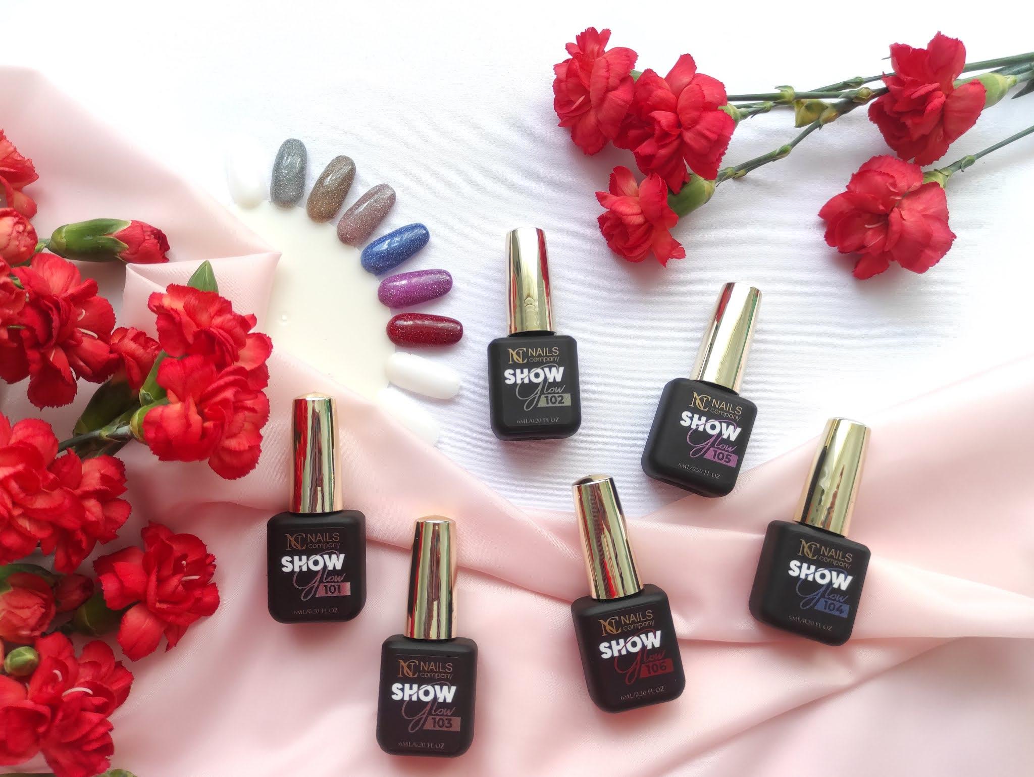 Lakiery hybrydowe Show Glow Nails Company