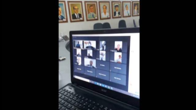 Sessões virtuais da Câmara de Itapetinga é um convite para o coronavírus