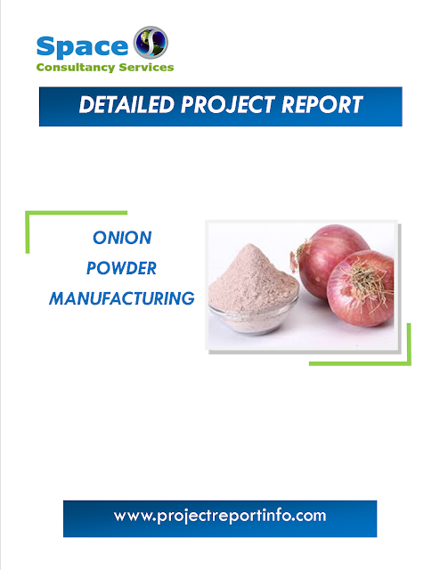 Project Report on Onion Powder Manufacturing