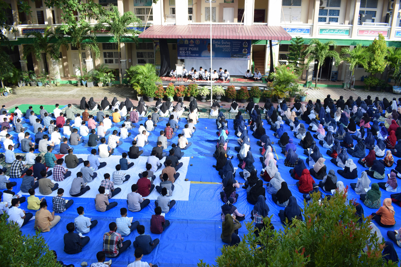 Peringatan Hari Guru Nasional Mtsn 1 Banda Aceh Gelar Rangkaian Kegiatan Lamuri Online