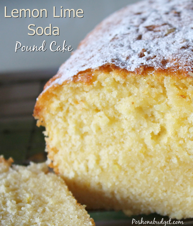 Lemon Lime Soda Pound Cake