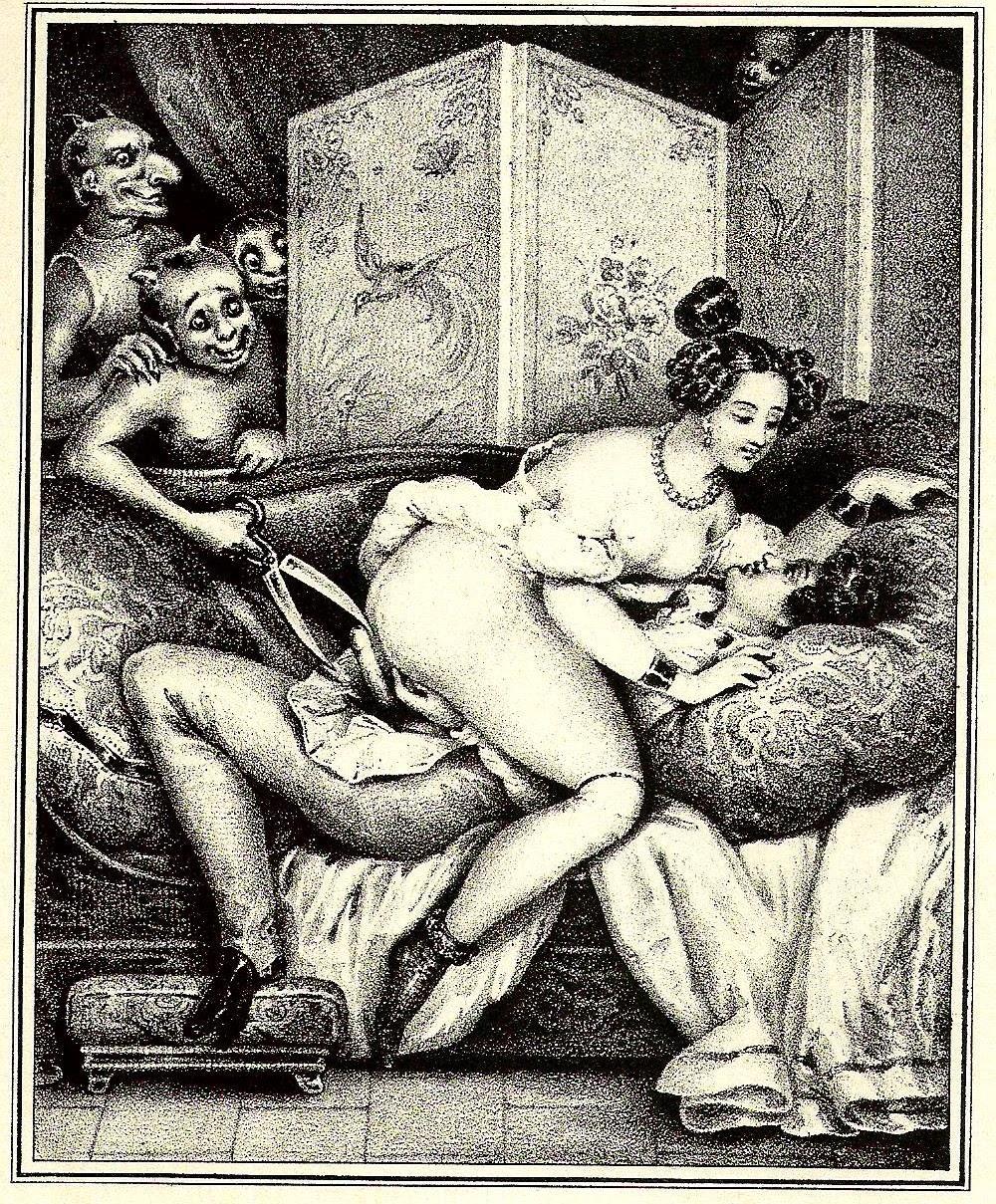 Французские порнографические гравюры
