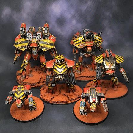 Legio Ignatum Titans for Adeptus Titanicus