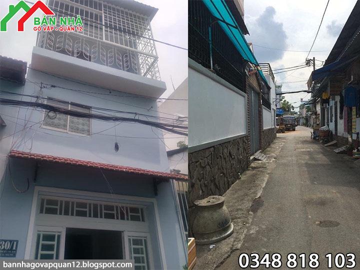 Nhà đường số 3 phường 9 Gò Vấp