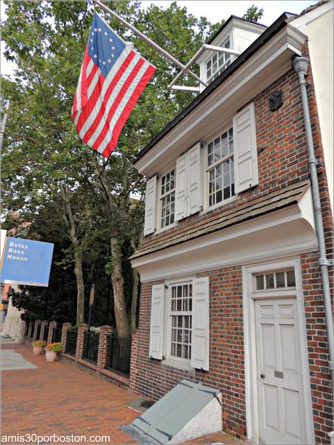 Casa Museo de Betsy Ross en Filadelfia