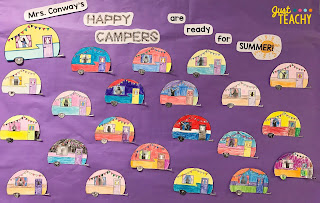camping-theme-bulletin-board