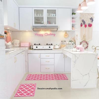 memasak lebih bersemangat dengan desain dapur unik warna