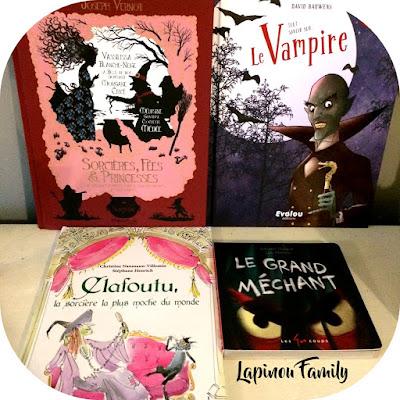 selection livres peur halloween