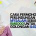 PERLINDUNGAN MySalam 2021 sebanyak RM8,000 untuk golongan B40 dan M40. Ini cara untuk memohon