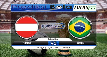 Prediksi Austria Vs Brasil 10 Juni 2018