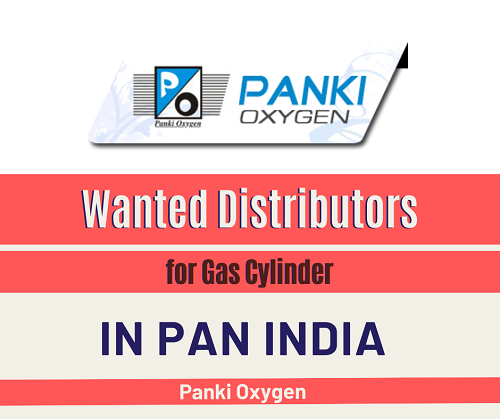Wanted Distributors for Gas Cylinder, Gas Handling Equipment in Pan India