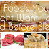 10 Foods You Need To Avoid Before Getting To Bed At Night