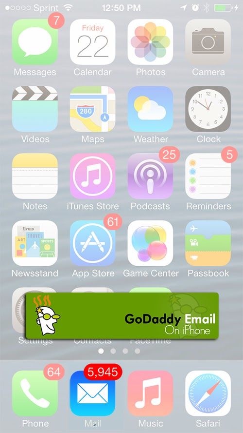 godaddy email iphone godaddy email on iphone automatically setting up godaddy 10706