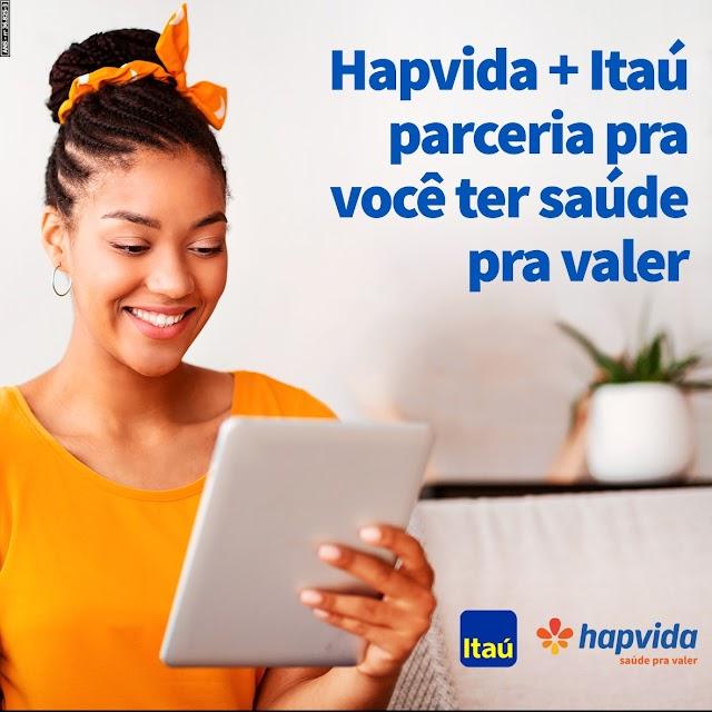 Sistema Hapvida firma parceria para venda de produtos na Itaú Corretora de Seguros